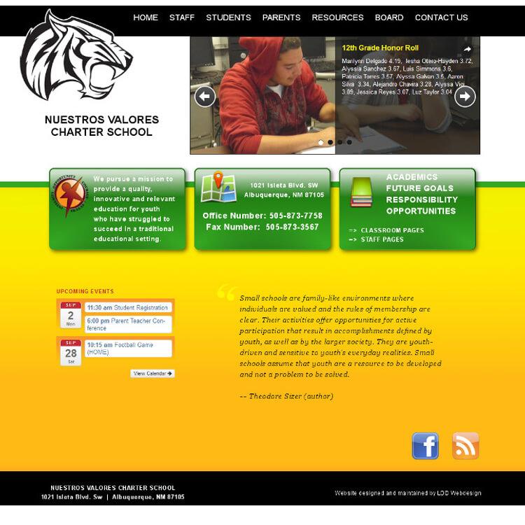Portfolio of Our Website Design Work - Albuquerque, New