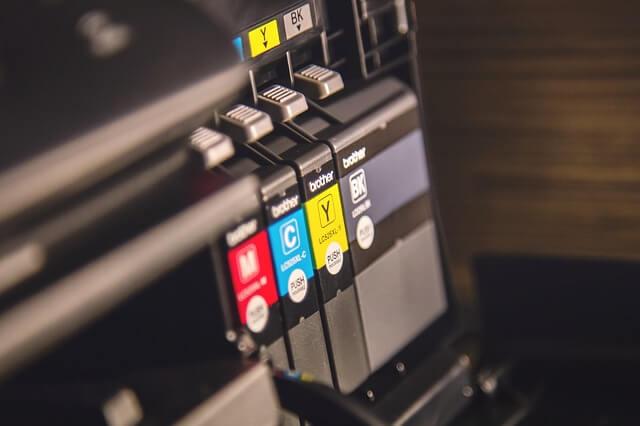 Back of printer